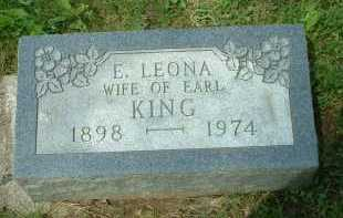 KING, E. LEONA - Meigs County, Ohio | E. LEONA KING - Ohio Gravestone Photos