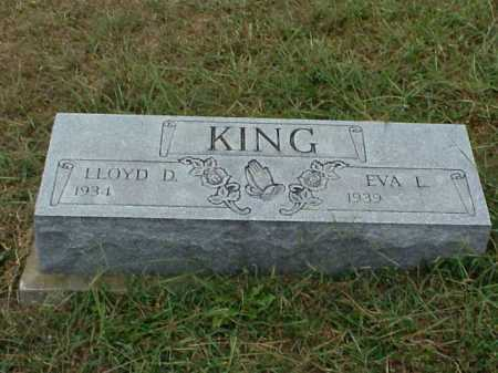 KING, LLOYD D. - Meigs County, Ohio | LLOYD D. KING - Ohio Gravestone Photos