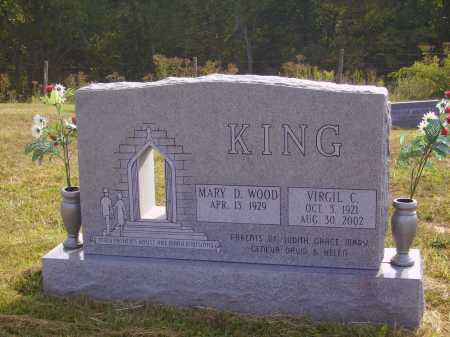 WOOD KING, MARY D. - Meigs County, Ohio | MARY D. WOOD KING - Ohio Gravestone Photos