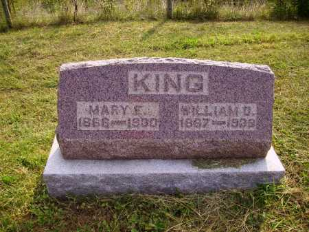 SCHRIEBER KING, MARY - Meigs County, Ohio | MARY SCHRIEBER KING - Ohio Gravestone Photos
