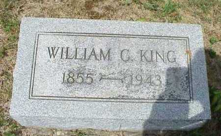 KING, WILLIAM C. - Meigs County, Ohio | WILLIAM C. KING - Ohio Gravestone Photos