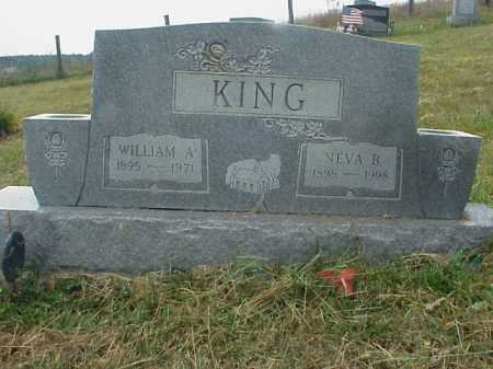 KING, WILLIAM A. - Meigs County, Ohio | WILLIAM A. KING - Ohio Gravestone Photos