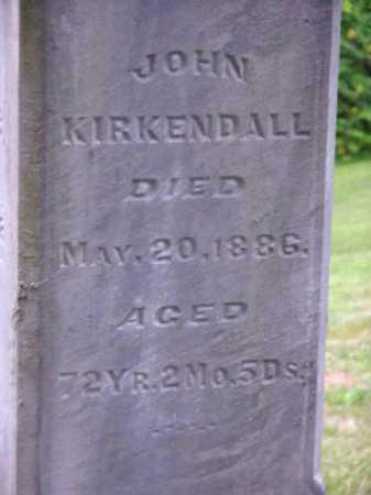 KIRKENDALL, JOHN - Meigs County, Ohio | JOHN KIRKENDALL - Ohio Gravestone Photos