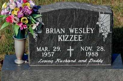 KIZZEE, BRIAN - Meigs County, Ohio | BRIAN KIZZEE - Ohio Gravestone Photos