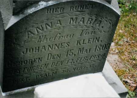 KLEIN, ANNA MARIA - Meigs County, Ohio | ANNA MARIA KLEIN - Ohio Gravestone Photos