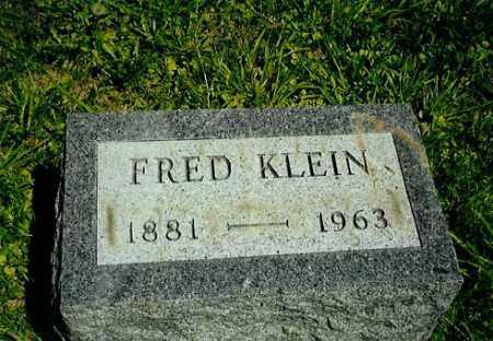 KLEIN, FRED - Meigs County, Ohio | FRED KLEIN - Ohio Gravestone Photos