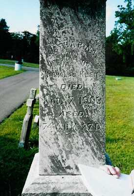 KLEIN, KATHARINE - Meigs County, Ohio | KATHARINE KLEIN - Ohio Gravestone Photos