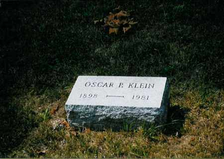 KLEIN, OSCAR P. - Meigs County, Ohio | OSCAR P. KLEIN - Ohio Gravestone Photos
