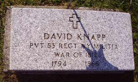 KNAPP, DAVID - Meigs County, Ohio | DAVID KNAPP - Ohio Gravestone Photos