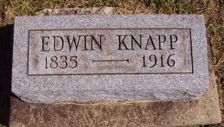 KNAPP, EDWIN - Meigs County, Ohio | EDWIN KNAPP - Ohio Gravestone Photos