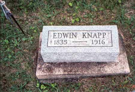 KNAPP, EDWIN (EDMUND) - Meigs County, Ohio | EDWIN (EDMUND) KNAPP - Ohio Gravestone Photos