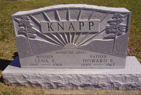 KNAPP, HOWARD E. - Meigs County, Ohio | HOWARD E. KNAPP - Ohio Gravestone Photos