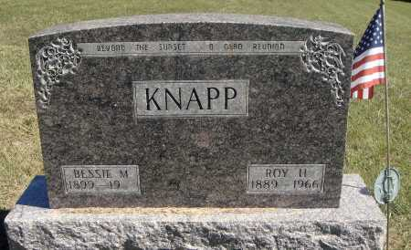 KNAPP, BESSIE M. - Meigs County, Ohio | BESSIE M. KNAPP - Ohio Gravestone Photos