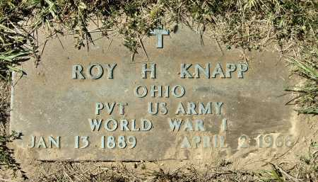KNAPP, ROY HENRY - MILITARY - Meigs County, Ohio | ROY HENRY - MILITARY KNAPP - Ohio Gravestone Photos
