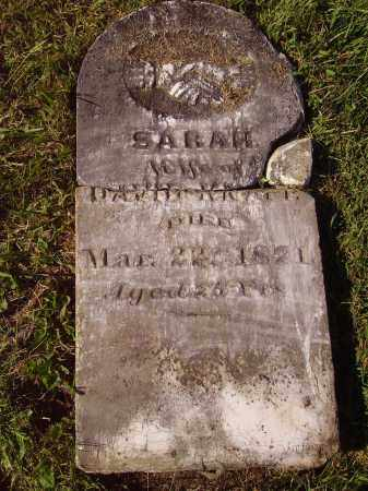 WOOD KNAPP, SARAH - CLOSE VIEW - Meigs County, Ohio | SARAH - CLOSE VIEW WOOD KNAPP - Ohio Gravestone Photos