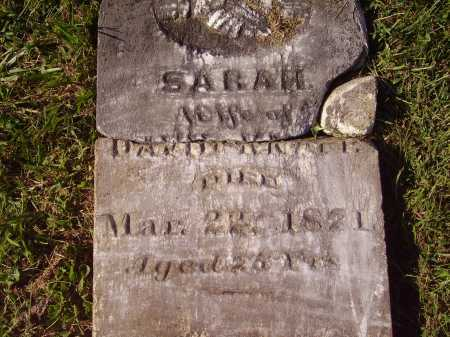 KNAPP, SARAH - Meigs County, Ohio | SARAH KNAPP - Ohio Gravestone Photos