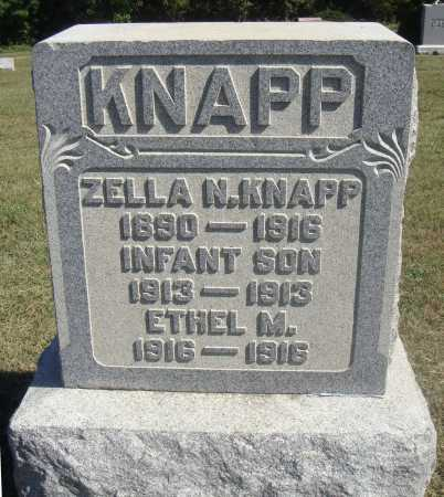 KNAPP, INFANT SON - Meigs County, Ohio | INFANT SON KNAPP - Ohio Gravestone Photos