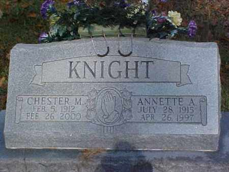 KNIGHT, ANNETTE A. - Meigs County, Ohio | ANNETTE A. KNIGHT - Ohio Gravestone Photos