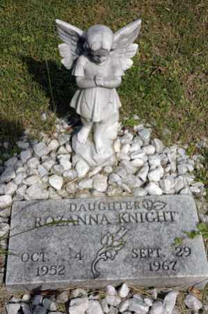 KNIGHT, ROZANNA - Meigs County, Ohio | ROZANNA KNIGHT - Ohio Gravestone Photos