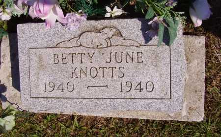 KNOTTS, BETTY JUNE - Meigs County, Ohio | BETTY JUNE KNOTTS - Ohio Gravestone Photos