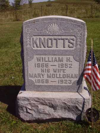 MOLLOHAN KNOTTS, MARY - Meigs County, Ohio | MARY MOLLOHAN KNOTTS - Ohio Gravestone Photos