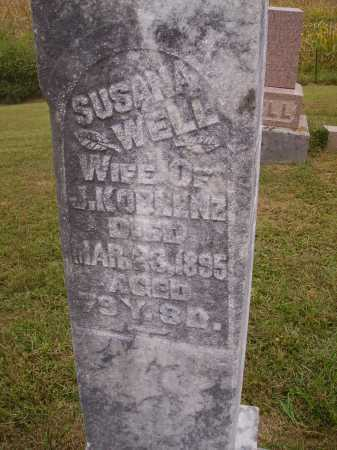 WELL KOBLENZ, SUSANA - Meigs County, Ohio | SUSANA WELL KOBLENZ - Ohio Gravestone Photos