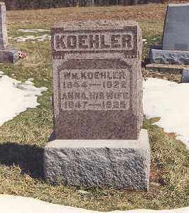 KOEHLER, ANNA - Meigs County, Ohio | ANNA KOEHLER - Ohio Gravestone Photos
