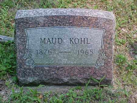 KOHL, MAUD - Meigs County, Ohio | MAUD KOHL - Ohio Gravestone Photos