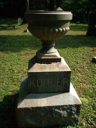 KOHLER, MONUMENT - Meigs County, Ohio | MONUMENT KOHLER - Ohio Gravestone Photos