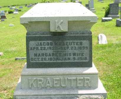 KRAEUTER, JACOB - Meigs County, Ohio | JACOB KRAEUTER - Ohio Gravestone Photos