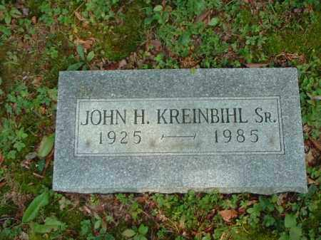 KREINBIHL, JOHN H. SR. - Meigs County, Ohio | JOHN H. SR. KREINBIHL - Ohio Gravestone Photos