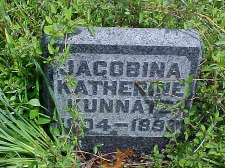 KUNNATZ, JACOBINA KATHERINE - Meigs County, Ohio | JACOBINA KATHERINE KUNNATZ - Ohio Gravestone Photos