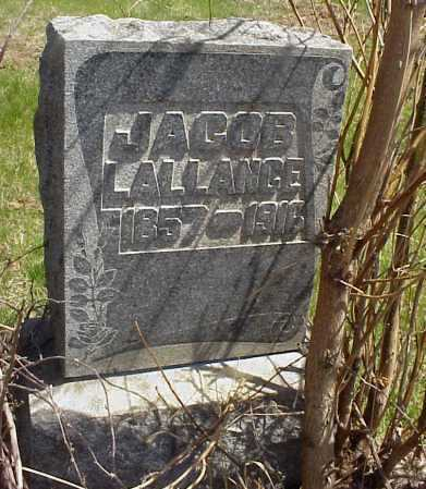 LALLANCE, JACOB - Meigs County, Ohio | JACOB LALLANCE - Ohio Gravestone Photos