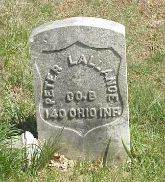 LALLANCE, PETER - Meigs County, Ohio | PETER LALLANCE - Ohio Gravestone Photos
