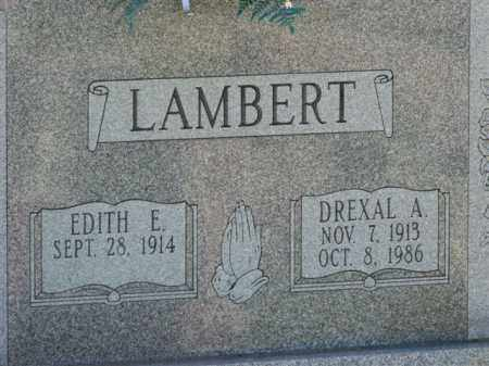 LAMBERT, EDITH E. - Meigs County, Ohio | EDITH E. LAMBERT - Ohio Gravestone Photos