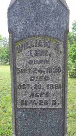 LANE, WILLIAM H. - Meigs County, Ohio | WILLIAM H. LANE - Ohio Gravestone Photos