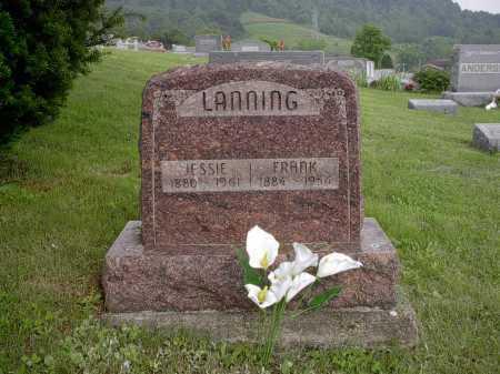 LANNING, FRANK - Meigs County, Ohio | FRANK LANNING - Ohio Gravestone Photos