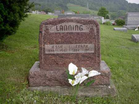 LANNING, JESSIE - Meigs County, Ohio | JESSIE LANNING - Ohio Gravestone Photos