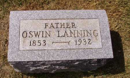 LANNING, OSWIN - Meigs County, Ohio | OSWIN LANNING - Ohio Gravestone Photos