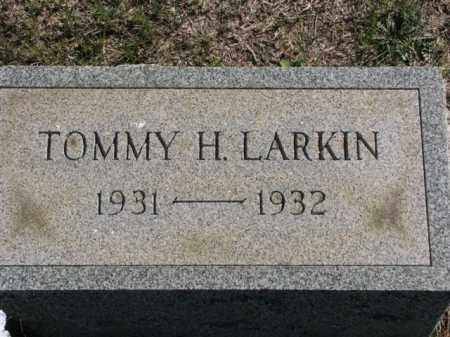 LARKIN, TOMMY H. - Meigs County, Ohio | TOMMY H. LARKIN - Ohio Gravestone Photos