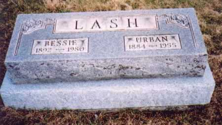 LASH, URBAN - Meigs County, Ohio | URBAN LASH - Ohio Gravestone Photos