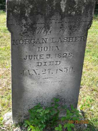 LASHER, CHARLOTTE - Meigs County, Ohio | CHARLOTTE LASHER - Ohio Gravestone Photos
