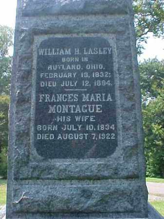 LASLEY, FRANCES MARIA - Meigs County, Ohio | FRANCES MARIA LASLEY - Ohio Gravestone Photos