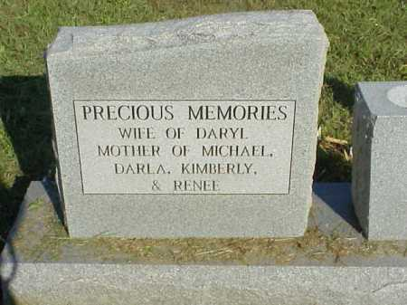LASSITER, JANET MARIE KINDELL - LEFT SIDE OF STONE - Meigs County, Ohio | JANET MARIE KINDELL - LEFT SIDE OF STONE LASSITER - Ohio Gravestone Photos