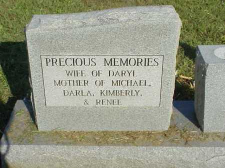 LASSITER, JANET MARIE KINDELL - LEFT SIDE OF STONE - Meigs County, Ohio | JANET MARIE KINDELL - LEFT SIDE OF STONE LASSITER - Ohio Gravestone Photos