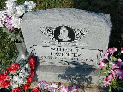 LAVENDER, WILLIAM T. - Meigs County, Ohio | WILLIAM T. LAVENDER - Ohio Gravestone Photos