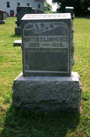 LAWRENCE, HATTIE E. - Meigs County, Ohio | HATTIE E. LAWRENCE - Ohio Gravestone Photos