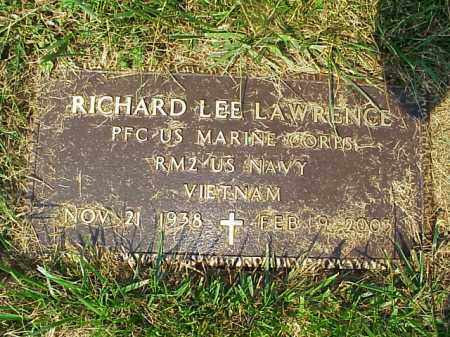 LAWRENCE, RICHARD LEE - Meigs County, Ohio | RICHARD LEE LAWRENCE - Ohio Gravestone Photos
