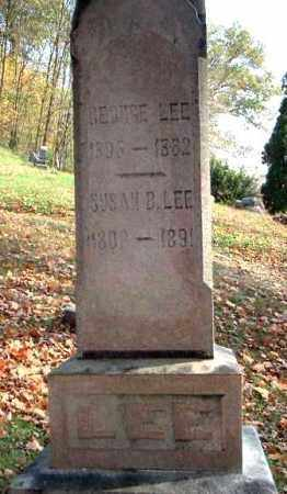 LEE, SUSAN B. - Meigs County, Ohio | SUSAN B. LEE - Ohio Gravestone Photos