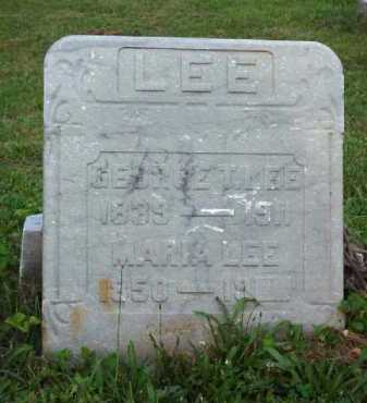 LEE, GEORGE T. - Meigs County, Ohio | GEORGE T. LEE - Ohio Gravestone Photos